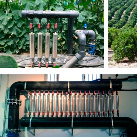 agua uso agrícola