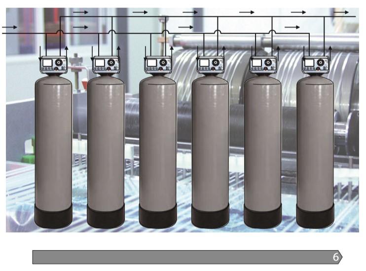 Instalación Descalcificador Industrial aquanatura